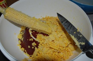 The essence of creamed corn